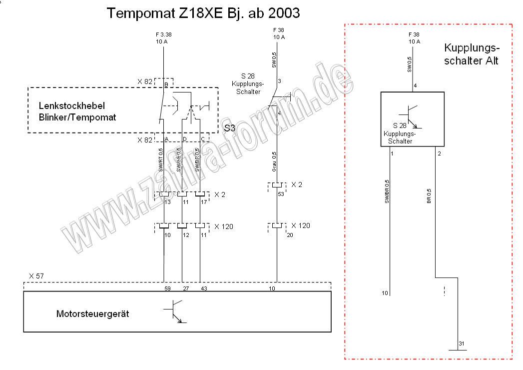 Anleitung] Bauteile u. Schaltplan Tempomat Benziner